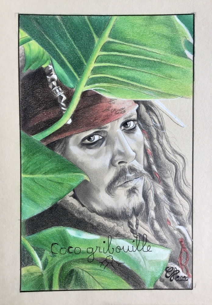 Johnny Depp by Coco66
